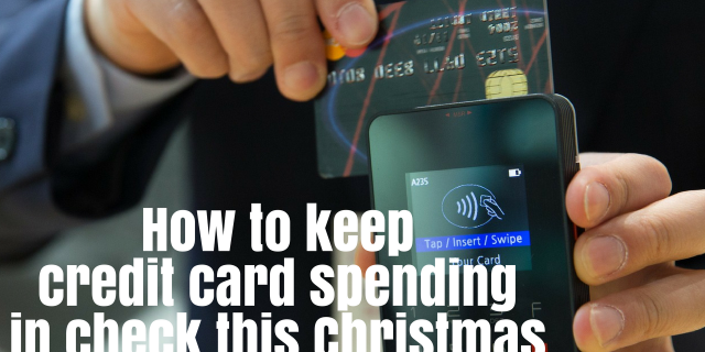How to keep credit card spending in check this Christmas